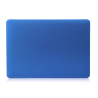 "For new 12"" Macbook plastic case Frosted rubberized laptop protect cover shell colors in stock Dark blue"