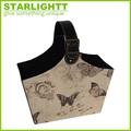 mariposa patrón de navidad de regalo de impresión de la canasta de almacenamiento