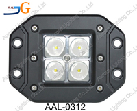 3'' 12w auto led running working light triler car tuning led truck lights AAL-0312