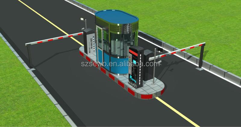 Intelligent Entrance& Exit Access Control Car Parking System - Buy ...
