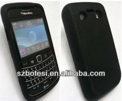 Silicone candy color case for Blackberry 9700