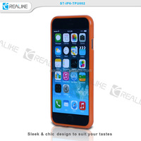 Ultra-thin TPU Silicone Soft Back Mobile Cell Phone Cover Case for iPhone 5 6