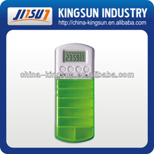7 days medical pill box with timer