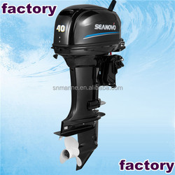 durable long shaft 2 stroke 40hp outboard motor for 8 m big boat