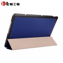 PC Leather flip cover case for tablet for asus zenfore 2
