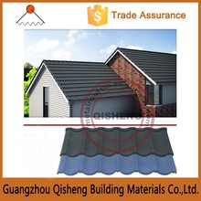 Metal sheet roof tile/sun stone coated metal roof tile