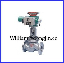 electric pneumatic operated globe valve with ansi / electric wcb globe valve