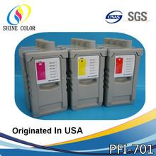 700ml Best Selling PFI701 PFI 701 PFI-701 compatible Pigment ink cartridge for Canon IPF8000 8000s 8100 9000 9000s 9100