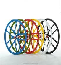 "22""451 Magnesium Alloy 5 spoke bicycle wheel"
