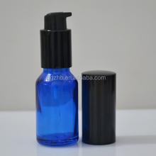 glass airless pump bottle/airtight glass bottle glass bottle olive oil/large glass dropper bottle