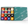 regulation size 2 1/4'' pool table billiard cue ball, exquisitely carved