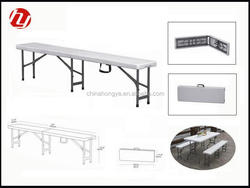 6ft foldaway portable bench for outdoor use