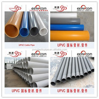 ISO DIN Standard UV Resistant PVC Pipe, PVC Pipe 400mm for Water Supply/Drainage with Good Price