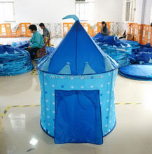 Customized hot selling kids play tent princess