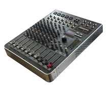 Wholesale new design 8-channel sound mixer, dj audio mixer