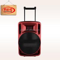wholesale plastic active rechargeable bluetooth speaker outdoor speaker