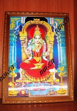 Indian god 3D picture printing with frame