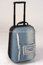 2013 fashion female school trolley bags