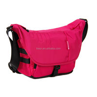 Water proof Nylon Rose colorful Top easy access DSLR camera bags for girls