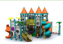 Modern/professional/playground plastic slide toy