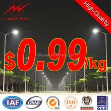 high quality of street light pole arms, galvanized street light pole arms exporter
