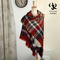 Hot New Products For 2015 GA00802 Knitted Scarf Winter Thick Warm Lady Acrylic Shawls