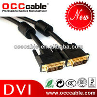 DVI-D dual link cable male to male used for LCD, DLP, LCOS