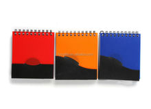 plastic spiral notepad and pen for promotion