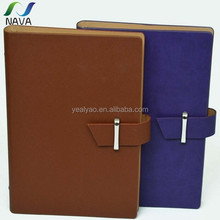 Hot sell from Chinese gold support top Quality NAVA brand OEM support notebook with pen