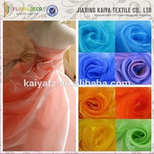Soft and smooth polyester fabric cheap korea organza