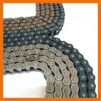 venezuela motorcycle spare part 40mn yellow color 525H motorcycle chain
