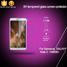 Hot sales tempered glass screen protector for samsung galaxy s1 i9000