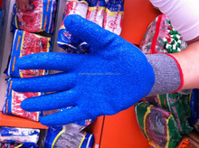 latex coated cotton gloves/double palm glove,cotton gloves walmart