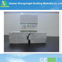 Sound heat insulated eps cement sandwich panel production