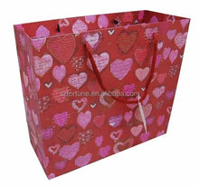 New pattern red paper bag, Chinese new year paper bag, wedding gift paper bag