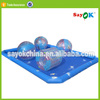 custom large intex bubble inflatable water pool toys