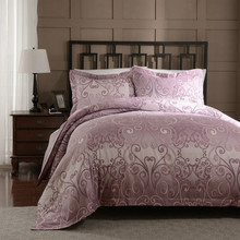 Polyester Palace Printing Rose-Red Girls Bedding Quilt King/Euro King/Queen/Twin Duvet Cover Set