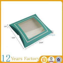 Window pillow box design underwear packaging