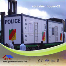 Low cost prefabricated living container houses