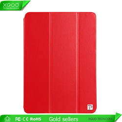 New Arrival For iPad mini Stand Leather Case Made of First Layer Real Leather