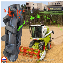 HS 40116100 paddy field tyre for tractor, combined harvester, Seeder, farmland,fertilizer, water irrigation