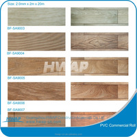 Stone grain commercial water proof PVC floor roll