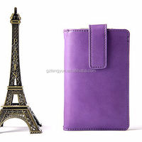 OEM manufacture universal phone case Crystal pattern ultra slim pu leather for 4.5 inch phone case