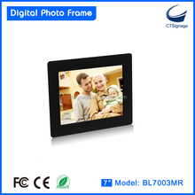 7Inch digital frames photo, digital photo frame with video loop BL7003MR