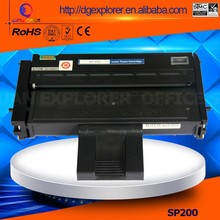 Hot Sale Toner For Ricoh SP200 Toner Suitable For Aficio SP200/200N/200S/200SF/201SF/202S Toner Cartridge