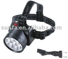 Yajia YJ-1882-1 rechargeable led head flashlight headlamp
