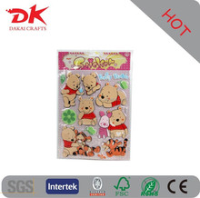 promtional gifts,toy for children,decoration Use and Puffy Sticker Type glow in dark puffy sticker