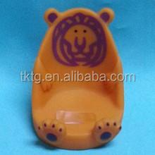 plastic lion handset seat, mobile phone holder