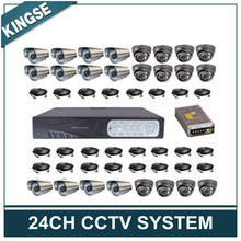 24CH H.264 Standalone DVR Security Camera System