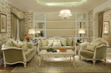 Luxury French Baroque Sofa Design Classic Furniture Living Room Sofa Fabric Sectional Sofa With foshan guangdong